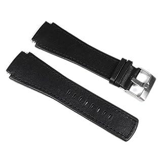 Junghans-Mega-1000-Ersatzband-Uhrenarmband-XL-Leder-Band-24mm-0264500-0264510-0264511
