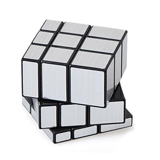 Gogogo-3-x-3-x-3-silber-verspiegelt-Geschwindigkeit-Torsion-Zauberwrfel-IntelligenzSpielzeugTraining-fr-Kinder-Erwachsene