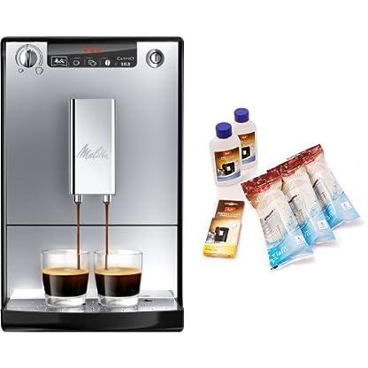 Melitta-E-950-103-Kaffeevollautomat-Caffeo-Solo-mit-Vorbrhfunktion-Melitta-6er-Pflegeset