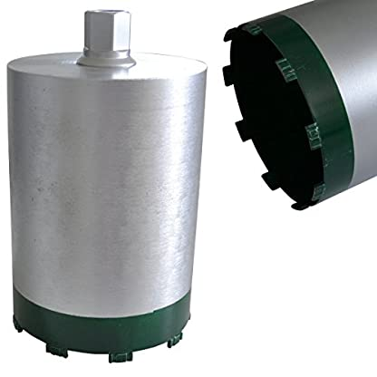 Eibenstock-EHD1801-Kernbohrgert-inklusive-Diamantbohrkrone-NL-260-Staubabsaugung-Zentrierbohrer