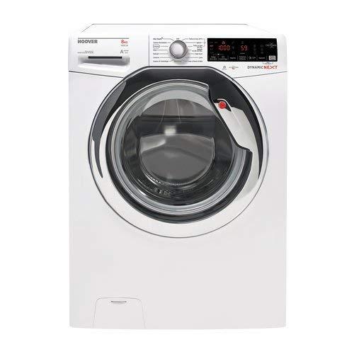 Hoover-dwoa-437-ahc61–01-autonome-Belastung-Bevor-7-kg-1300trmin-A-30-wei-Waschmaschine–Waschmaschinen-autonome-bevor-Belastung-wei-drehbar-Oberflche-links-LED