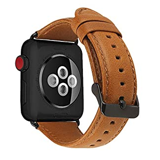Jintime-Fr-Apple-Watch-Lederband-Exquisite-Ersatzband-Armband-fr-Apple-Watch-Serie-4-3-2-1-38mm-42mm-MnnerFrauen-Bequeme-Schmuck-Armband