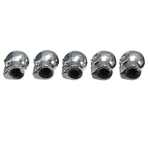 skgardeniamy-5PC-Silber-Schdelform-Reifen-Reifen-Rad-Ventil-Kappe-Motorrad-Fahrrad-Staub-Stamm-Abdeckung