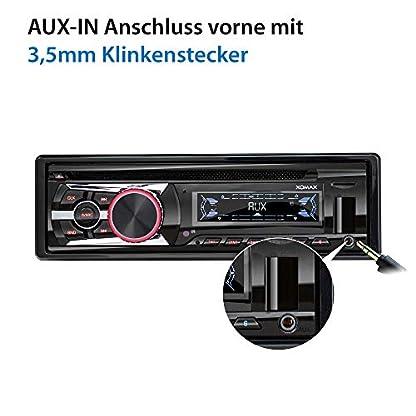 XOMAX-Autoradio-mit-CD-Player