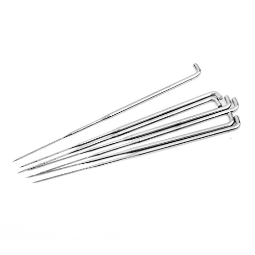 Filznadeln – SODIAL(R) Set 7 Stueck Filznadeln mit Holzgriff Wollfilz Werkzeug Filzen Starter Bausatz
