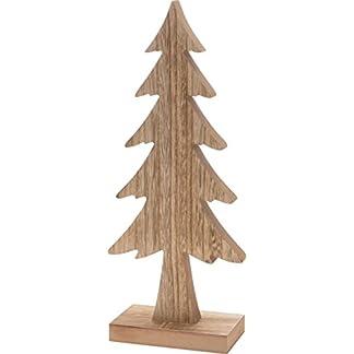 CHICCIE-Deko-Weihnachtsbaum-aus-Holz-37cm-Tannenbaum-Tanne-Baum-auf-Sockel