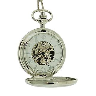 Boxx-mechanische-Herren-Freimaurer-Taschenuhr-mit-33-cm-Uhrkette-BOXX354
