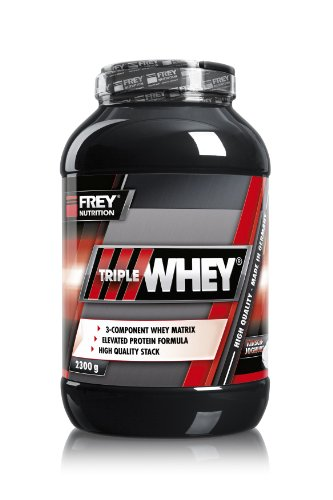 Frey Nutrition Triple Whey Kirsch-Joghurt, 2.3 kg, Dose, 1er Pack (1 x 2.3 kg)
