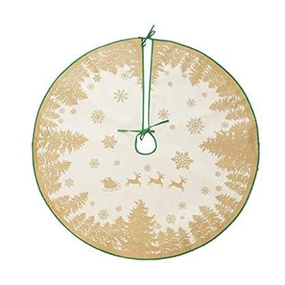 HSKB-Weihnachtsbaumrock-Weihnachtsbaum-Rock-Weihnachtsbaumdecke-Baumdecke-Christbaumstnder-Decke-Weihnachtsdeko-90cm-Passt-alle-Baumgre-Feiertags-Party-Dekoration