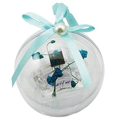 perfeclan-Nachfllbare-Acrylkugeln-Bastelkugeln-Dekokugeln-fr-Weihnachsbaum-Fenster-Wand-Tr-usw