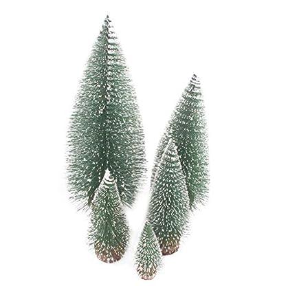 Knstliche-Mini-Weihnachtsbume-Tabletop-Mini-Bume-mit-Holzsockel-fr-DIY-Home-Decoration-Models