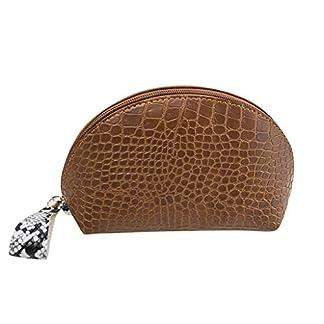 SSUPLYMY-Damen-Make-up-Tasche-Aufbewahrungstasche-wasserdichte-Aufbewahrungstasche-Kosmetiktasche-Einfach-Stilvoll-Krokodil-Muster-PU-Wasserdicht-Reise-Aufbewahrungstasche