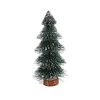 Vektenxi-Mini-Weihnachtsbaum-Desktop-White-Cedar-Miniatur-Weihnachtsbaum-FestiveTree-Ornament-fr-Weihnachtsdekoration-A-15CM-langlebig-und-praktisch