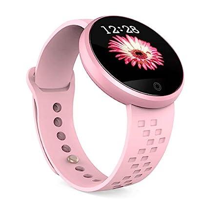 B36-Damen-Fitness-Tracker-AndroidiOS-wasserdicht-Smart-Watch-verstellbares-Armband-Touchscreen-Bluetooth-Outdoor-Schrittzhler-Blutdruck-Herzfrequenz