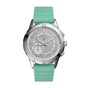 Fossil-Damen-Hybrid-Smartwatch-Q-Modern-Pursuit-Silikon-Mint-Analoge-Damenuhr-im-sportlichen-Stil-mit-Smartfunktionen-Fr-Android-iOS