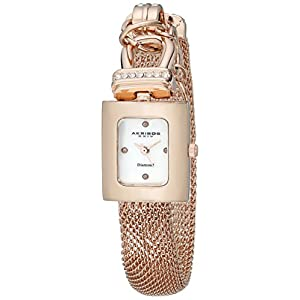 Akribos-XXIV-Damen-Armbanduhr-Impeccable-Analog-Quarz-AK510RG