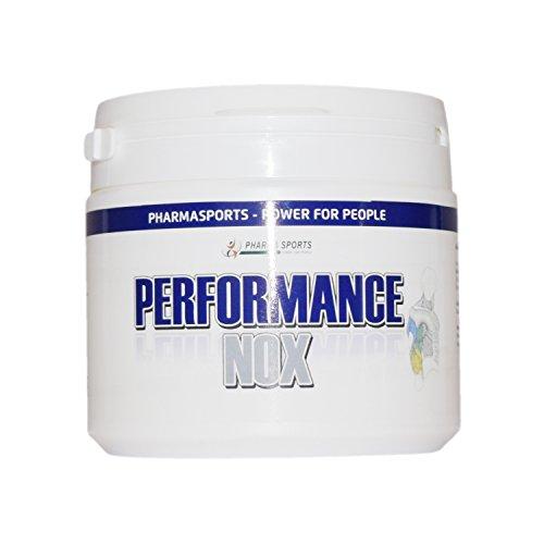 Performance NOX Kombi Stickstoffmonoxid – NO2 – Arginin, Citrullin, Beta Alanin, Kreatin auch als Pre-Workout Booster ohne Koffein, Trennmittel, Farbstoffe usw Made in Germany