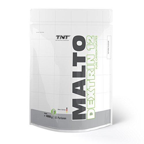 Maltodextrin 12 – Kohlenhydrate Pulver für Sport, Fitness, Muskelaufbau & Bodybuilding / 4 kg Beutel