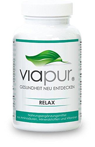 viapur® RELAX – 120 Kapseln, Aminosäuren, Mineralstoffe und Vitamine