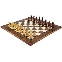 Die-Madrid-Rot-Sandelholz-und-Briar-Luxus-Schachspiel