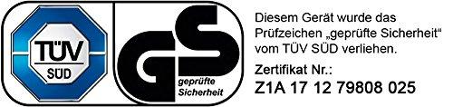BRAST-BENZIN-ECO-Rasenmher-Motormher-25kW-34PS-Mher-Benzinmher-Trimmer-kugelgelagerte-Big-Wheeler-Rder-Stahlblechgehuse-Easy-Clean-46cm-Schnittbreite