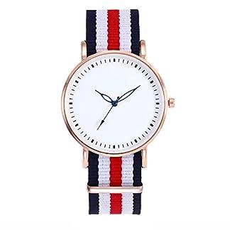 Souarts-Damen-Armbanduhr-Bohemian-Stil-Deko-Analoge-Quarz-Uhr-mit-Batterie-Rot