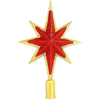 Weihnachtsbaumspitze-Stern-Christbaumschmuck-Christbaumspitze-3-Farben-20-cm