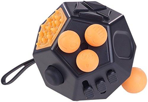 Newgen-Medicals-Fidget-Cube-Anti-Stress-Wrfel-mit-12-Funktionen-Gegen-Nervositt-Stress-und-Wut-Fidget-Wrfel