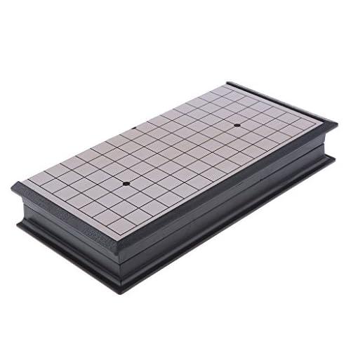 Sharplace-Tragbar-Faltbar-Weiqi-Go-Spiel-Reiseset-Spielbrett-mit-magnetische-Spielsteinen-Reisespiel-Spielzeug