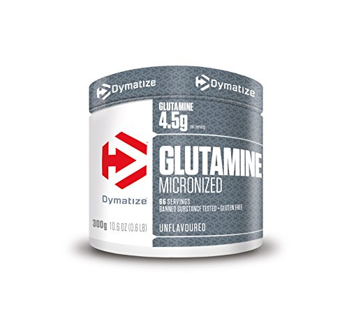 Dymatize Glutamin Micronized Unflavoured Powder 300g