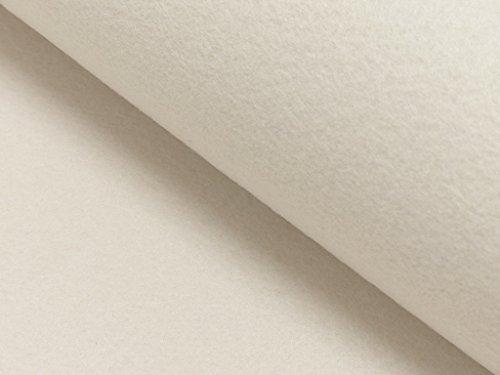 StoffBook WEIß STABILER BASTELFILZ TASCHENFILZ STOFF 4MM-100CM STOFFE, D220