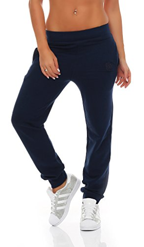 Gennadi Hoppe Damen Jogginghose Trainingshose Sweat Pants Sporthose Fitness Hose