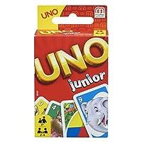 Mattel-Games-52456-UNO-Junior-Kartenspiel-fr-Kinder-geeignet-fr-2-10-Spieler-Spieldauer-ca-15-Minuten-ab-3-Jahren