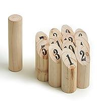 Ocean5-Nummern-Kubb-das-Zahlen-Wurfspiel-fr-drauen-Holz-Kegel-Wikinger-Spiel-aus-Skandinavien-das-Geschicklichkeitsspiel-fr-den-Sommer