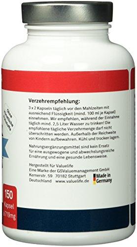 Glucomannan 3000mg – Sensations- Appetithemmer für Diät-Unterstützung und zum Abnehmen! Zusatz: Feigenkaktus + Flohsamen + Grüner Tee! 150 Kapseln à 719mg.