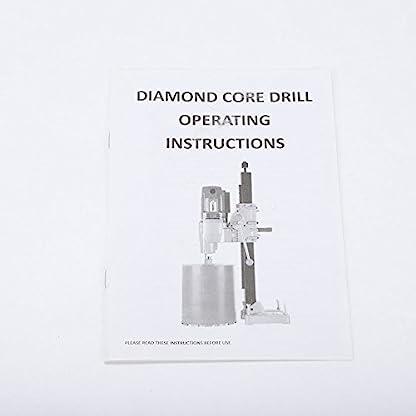 SENDERPICK-Diamantkernbohrmaschine-1600-Watt-130-MM-Diamantkernhammer-Bohrer-Handgestein-Kernbohrmaschine