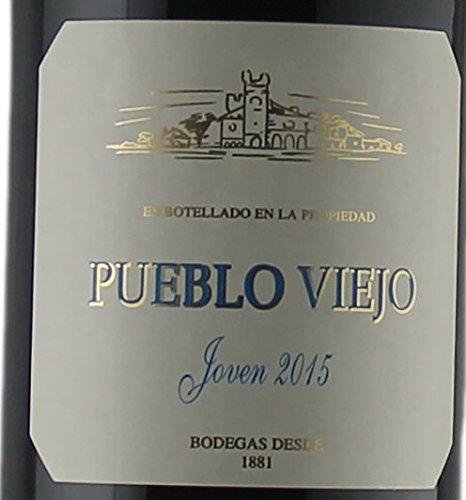 Magnumflasche-Rotwein-Spanien-Rioja-Pueblo-Viejo-Tempranillo-2015-halbtrocken-3-x-15L