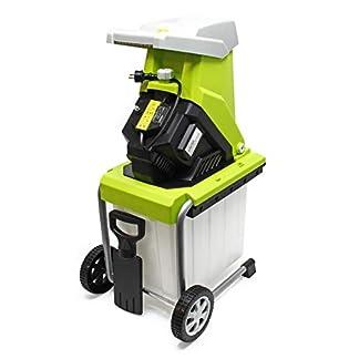 Elektrischer-Gartenhcksler-Schredder-Hcksler-Holzhcksler-2500W-max-40mm-Aststrke