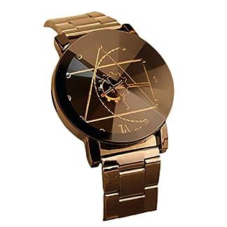 FEITONG-Herrenuhr-Analoge-Armbanduhr-Quarzuhr-Elegant-Edelstahl-Herren-Uhr-Schwarz-NEU