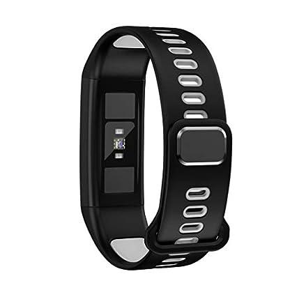 A-Artist-Fitness-Tracker-mit-Pulsmesser-Fitness-Armband-Aktivittstracker-Herzfrequenzmonitor-Schrittzhler-Uhr-Vibrationsalarm-Anruf-SMS-Beachten-fr-IOS-Android-Handy
