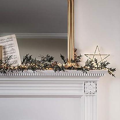 Lights4fun-Weihnachts-Girlande-Tannenzweige-Mistelzweige-Eicheln-und-Beeren-180cm