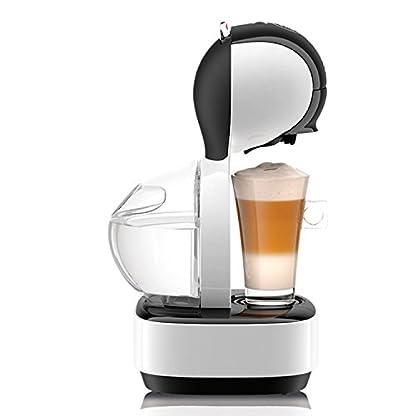 Krups-KP1301-Nescaf-Dolce-Gusto-Kaffeekapselmaschine-Lumio-1600-Watt-automatisch-deutsche-Version-wei-Generalberholt