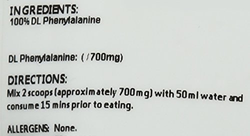 BULK POWDERS DL-Phenylalanin, 100 g