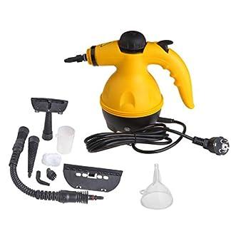 Vinteky-Portable-Cleaner-Elektrischer-Dampfreiniger-Reinigungsmaschine-Handheld-Steamer-Cleaner-mit-9-Zubehrteilen-Ideal-fr-Badezimmer-Matratzen-Teppiche-und-Kitchen