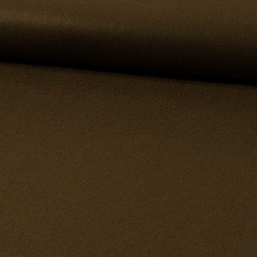 Deko- Bastelfilz 1mm braun -Preis gilt für 0,5 Meter-