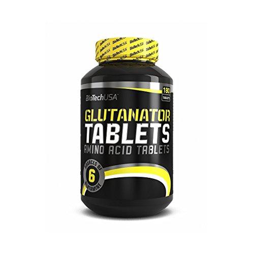 BioTech USA Glutanator 180 Stück / Glutamin Tabletten