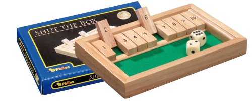 Philos-3129-Shut-The-Box-mini-Wrfelspiel-Klappenspiel