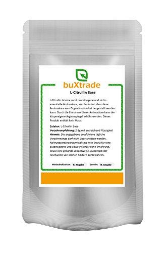 250 g L-Citrullin Base – rein | Aminosäure | ohne Malat