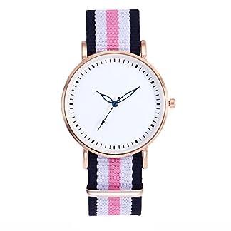 Souarts-Damen-Armbanduhr-Bohemian-stil-Deko-Analoge-Quarz-Uhr-mit-Batterie-Rosa
