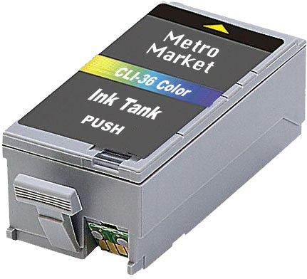 Metro-Market-12-Stcke-Kompatible-Patronen-Ersatz-fr-Canon-PGI-35-CLI-36-Tintenpatronen-Hohe-Kapazitt-fr-Canon-PIXMA-iP100-iP110
